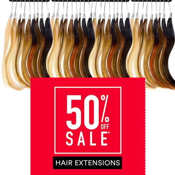 50% korting op Balmain hair extensions + gratis borstel @ Voorkappers.nl