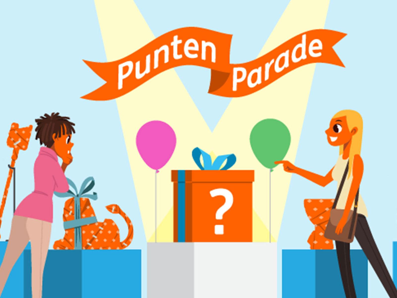 ING Punten Parade (twee weken lang met iedere dag een unieke deal)