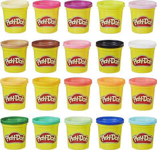 [select] 20 Potjes Play Doh Klei - Super Color Pack