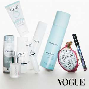 8x Vogue Inclusief Vogue Natural Beauty Box t.w.v. €210,40