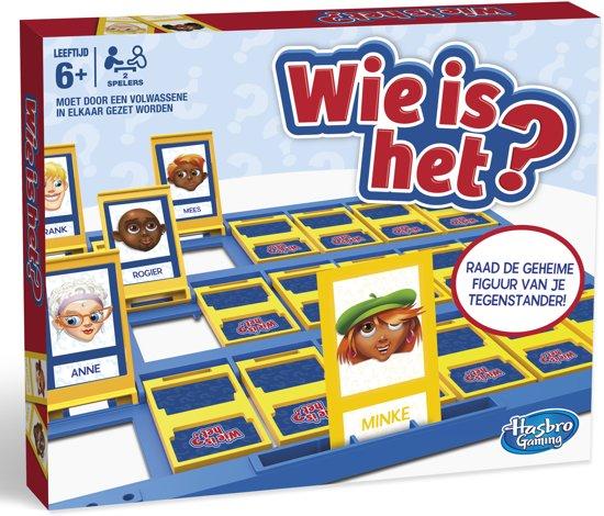 Wie Is Het? De originele editie met staande spelcassettes 14,99 euro (25% korting)