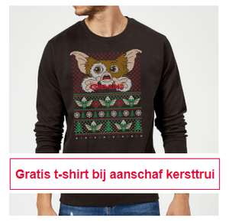 Gratis t-shirt bij aankoop kersttrui €27,99 @ zavvi.nl