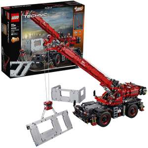 LEGO Technic (42082) Ruig Terrein Kraanwagen @ Amazon.co.uk