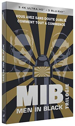 Men in Black - Trilogie (4K Blu-Ray + Blu-Ray) incl ansichtkaarten en sleutelhanger @ Amazon.fr