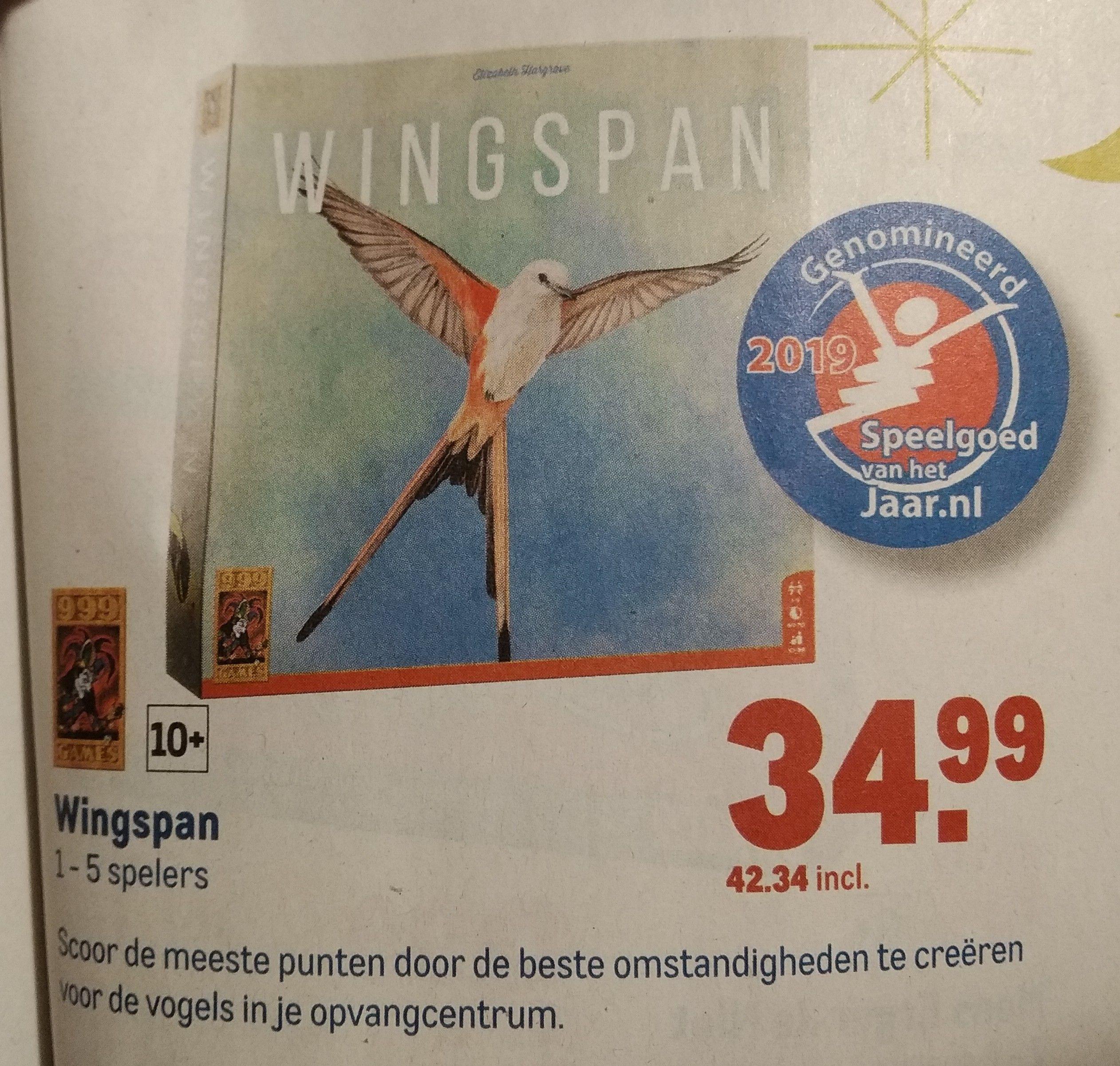 Wingspan (Bordspel) - nr. 1 op BGG