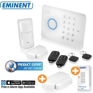 Eminent EM8610 draadloos GSM alarmsysteem voor €186