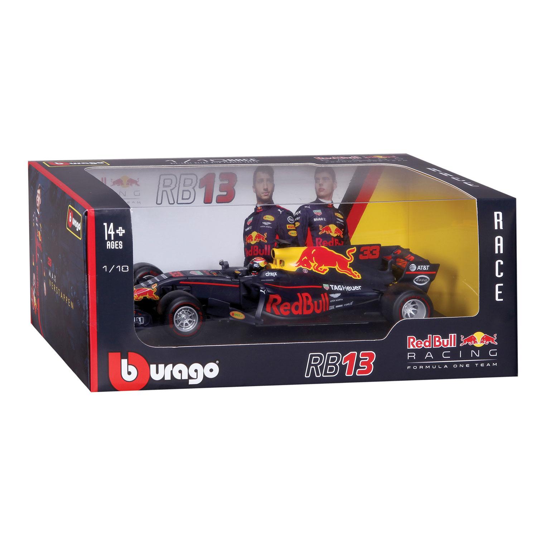 Bburago Red Bull Max Verstappen 1:18 RB13 - Lobbes