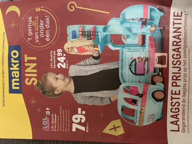 Makro laagste prijsgarantie op speelgoed