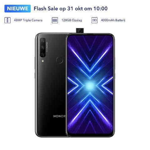 Honor 9X voor €199 tijdens de Flash Sale op 7 november om 10:00 uur