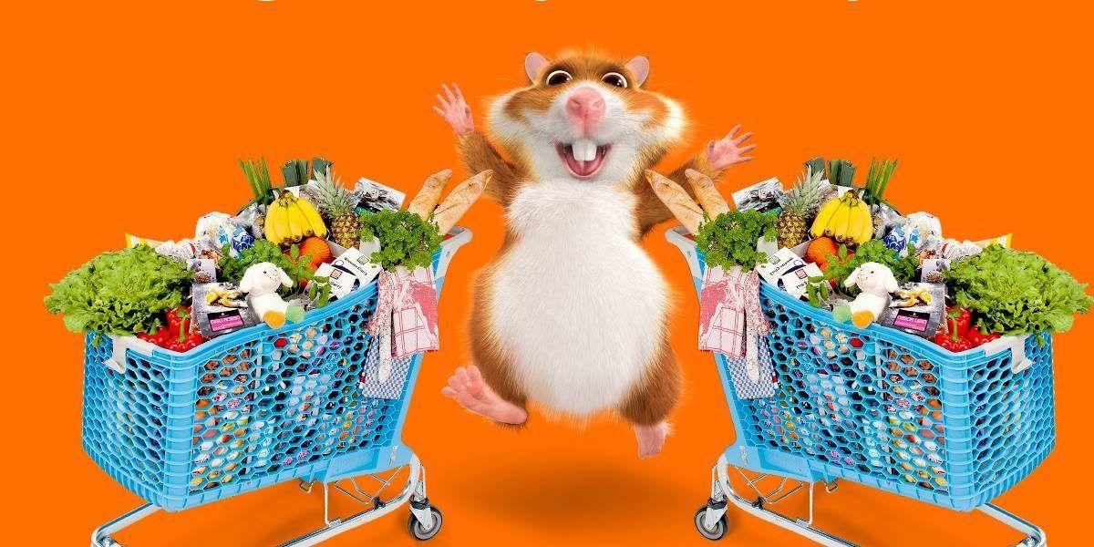 Hamsterweken bij AH (2e gratis)