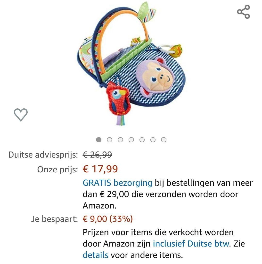 Mattel Fisher-price dyc85 €17,99 @ Amazon