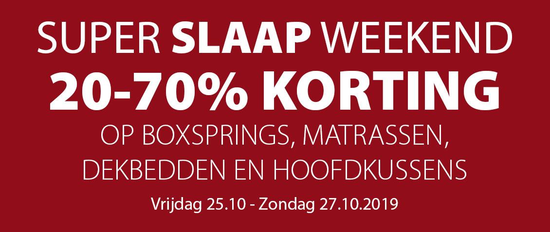 SUPER SLAAP WEEKEND BIJ JYSK! 20-70% korting!