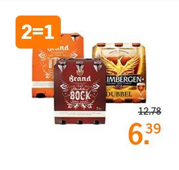Grimbergen en Brand speciaalbieren 2=1 @AH