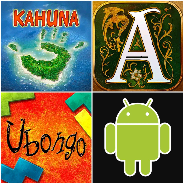 App versie van de bordspellen Kahuna, Ubongo en Legends of Andor tijdelijk afgeprijsd (€0,99 - €3,99) [Android]