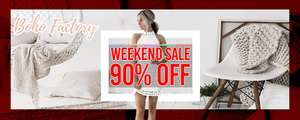 Boho factory 90% off sale