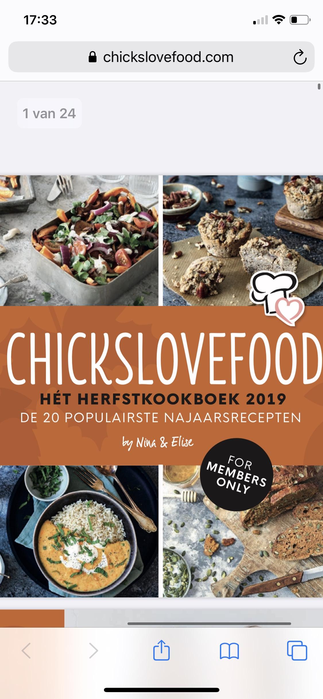 Gratis herfstkookboek (e-book) van Chickslovefood