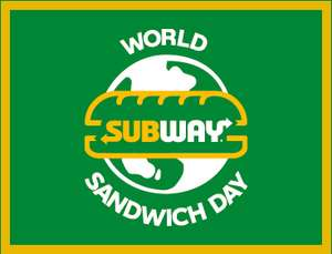 Subway 1+1 Gratis Sub, Wrap of Salade