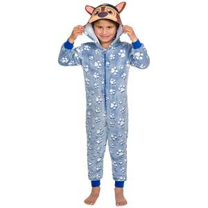 Glow-in-the-dark onesies (mt 98-128) met tv-figuren voor €7,95 @ Action