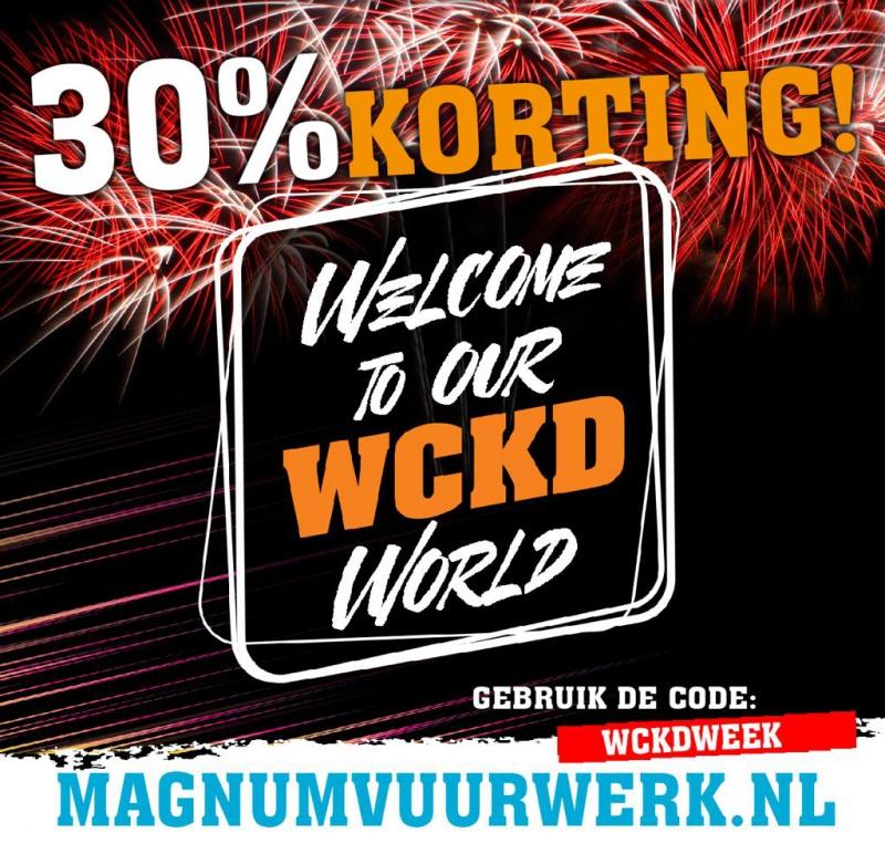 30% korting op Magnum Vuurwerk