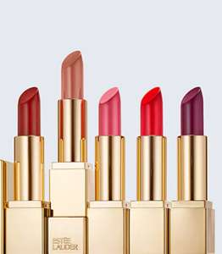 Estée Lauder 5 full size lipsticks voor de prijs van 1