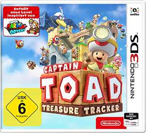 Captain toad treasure tracker 3ds duitse versie bij Amazon.de
