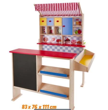 Houten speelwinkel Vanaf 3 jaar - Lidl ONLINE - 39,99 euro