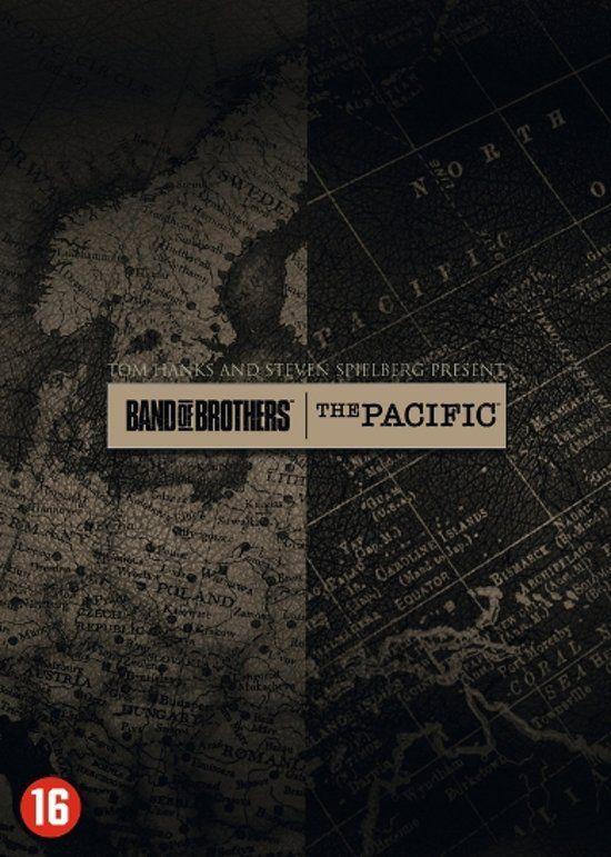 Hoge korting op de Band of brothers & the pacific box bij bol.com