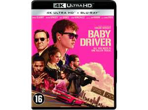 Baby Driver 4K Ultra HD Blu-ray @ Media Markt