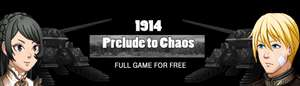 Gratis game 1914: Prelude to Chaos @Indiegala
