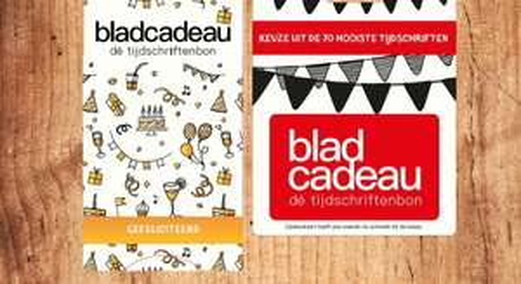Krijg €2,50 terug bij aankoop van Bladcadeau