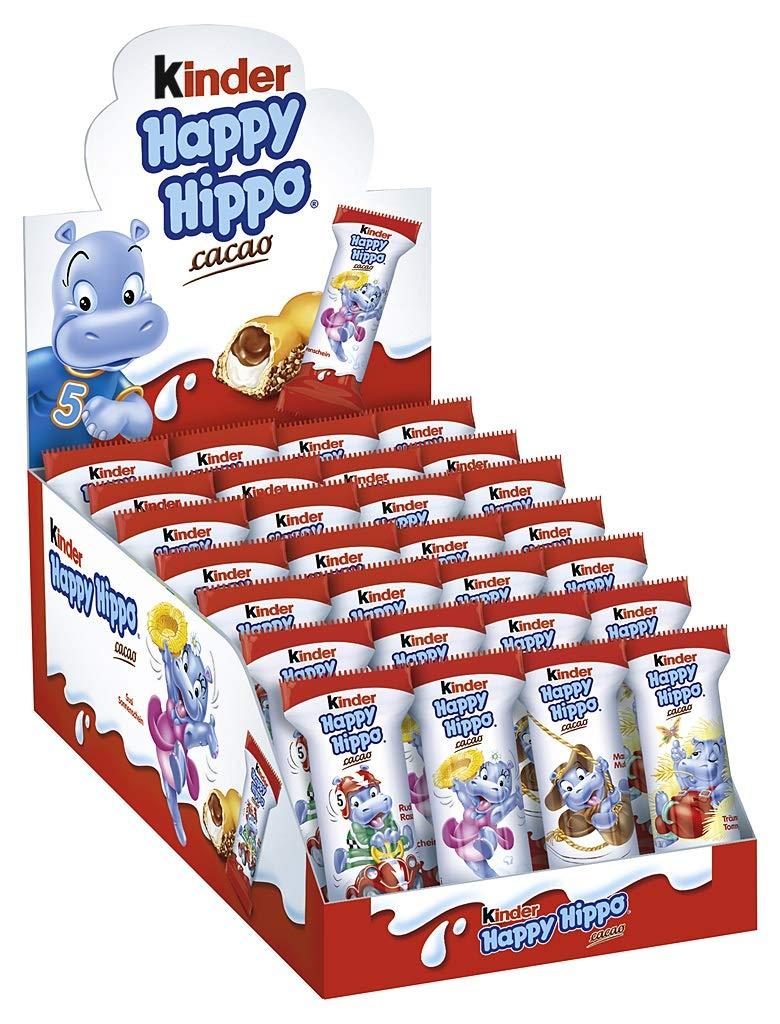 28x kinder Happy Hippo Cacao  (28 x 20,7 g Riegel)