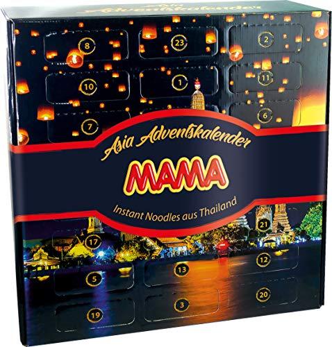 MAMA instantnoedels Adventskalender met 23 zakjes