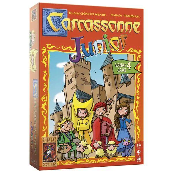 Carcassonne junior 999 games hoge korting bij kruidvat