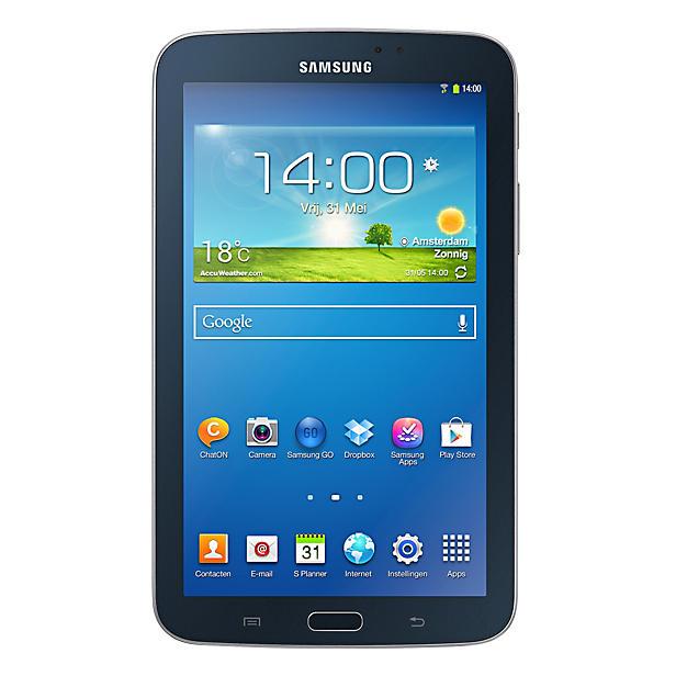 """Samsung Galaxy Tab 3 7"""" Wifi (zwart) voor € 118,98 @ Wehkamp"""