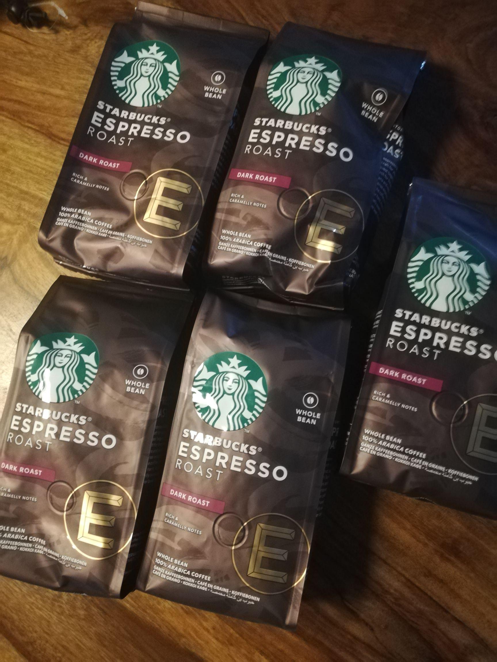Starbucks coffee bonen en gemalen koffie 5 voor 3,99