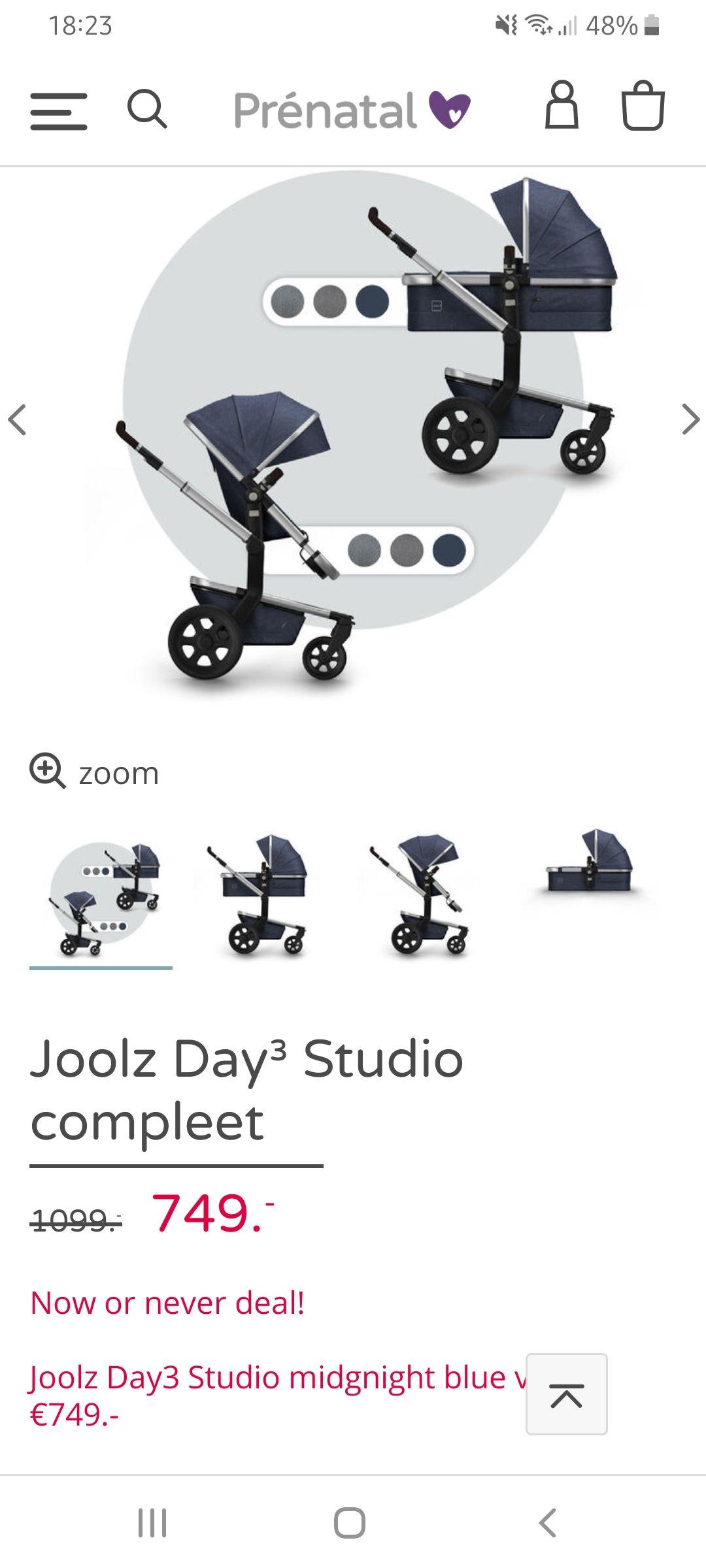Joolz day3 studio bij prenatal