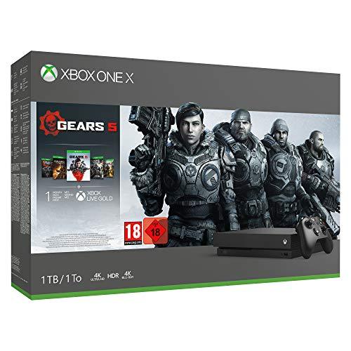 Xbox One X 1TB - Gears 5 Bundle @Amazon.de