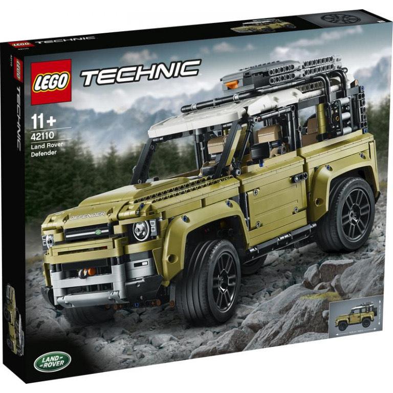 FUN: Lego Technic Land Rover Defender (42110)