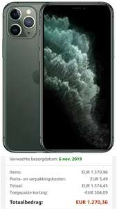 Apple iPhone 11 Pro 512 GB - Groen @amazon.de