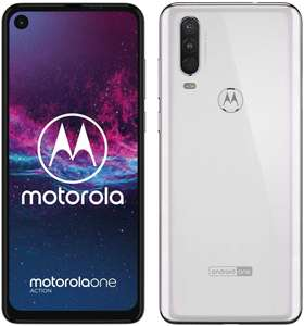 Motorola one Action, wit (android one telefoon!)