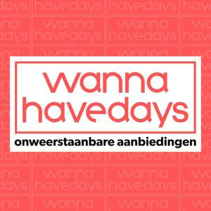 Wannahave Days nu al in de app @ Wehkamp
