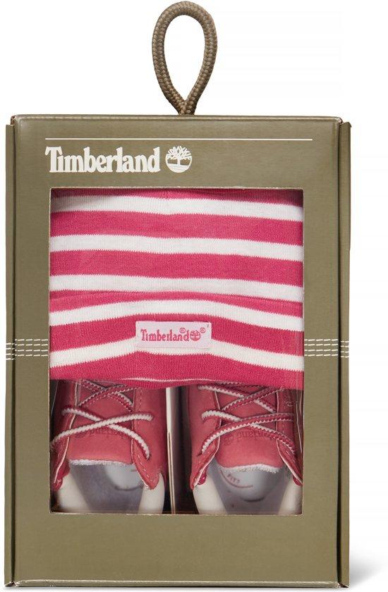 Timberland Crib Bootie (maat 17) + muts baby giftset voor €14,99 @ Bol.com