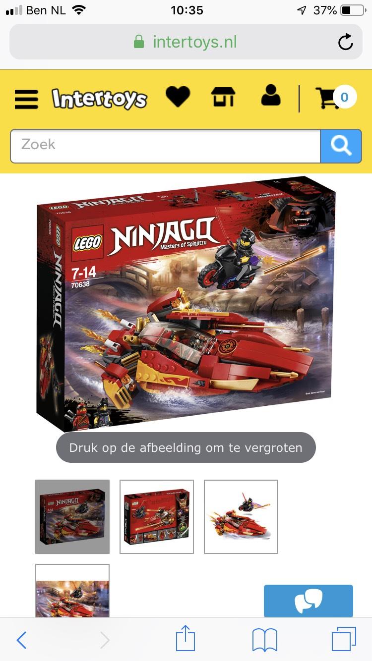Ninjago 70638 nu voor 4,24 bij intertoys!!