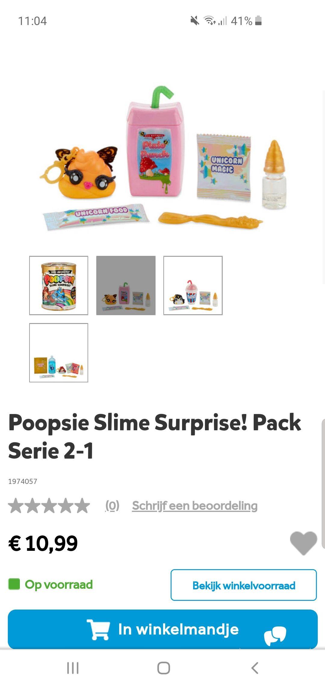 1+1 gratis Poopsie Slime Surprise! Pack Serie 2-1