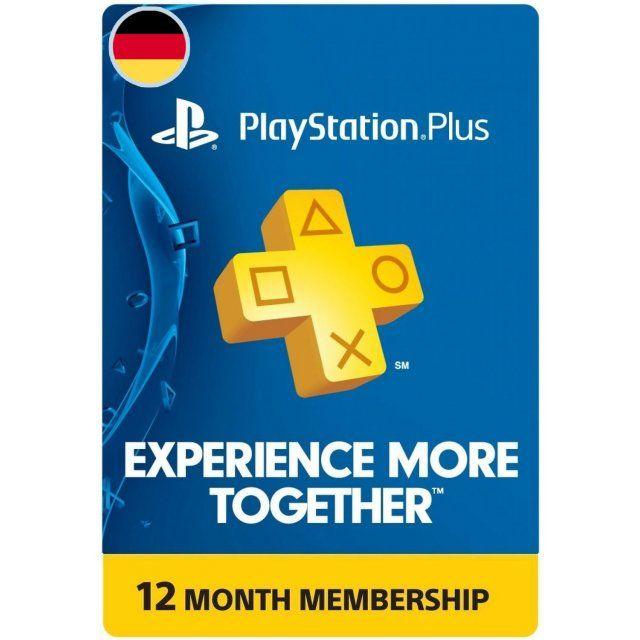12 maanden Duitse PS Plus 50% korting