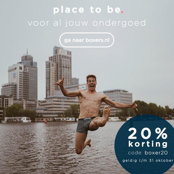 20% korting bij boxers.nl