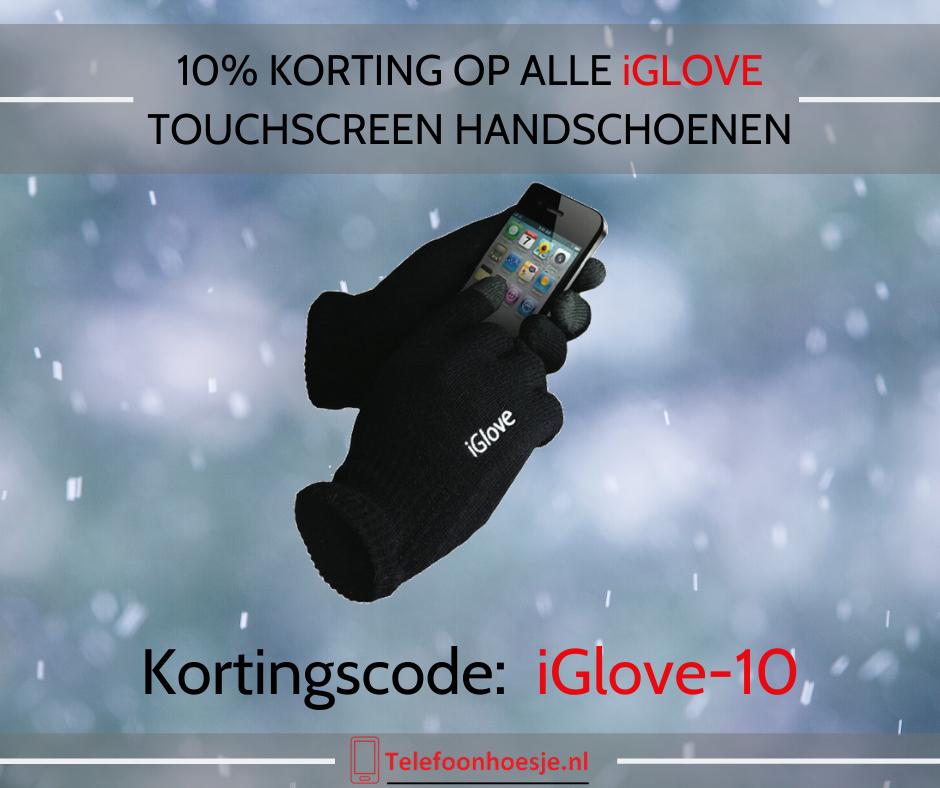 10% korting op alle iGlove touchscreen handschoenen