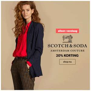 20% korting Scotch & Soda collectie - wannahavedays