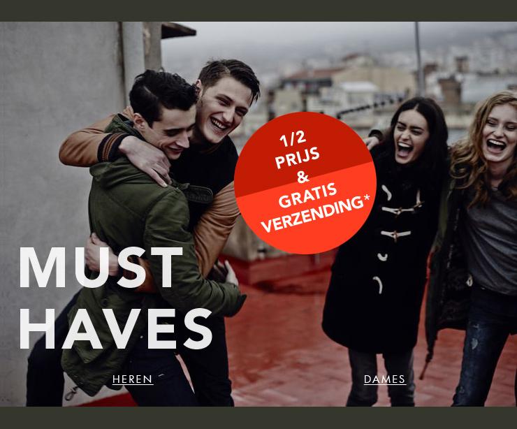 50% korting en gratis verzending op de MUSTHAVES @ dressforless.nl
