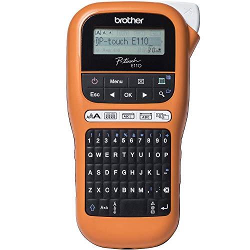 Brother PTE110G1 Labelprinter P-touch E110 @ Amazon.de